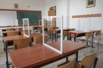 Şcolile se închid de luni în Chiajna, judeţul Ilfov. Copii vor învăţa online