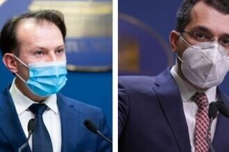 """Premierul Cîţu, despre scandalul cu ministrul Sănătăţii: """"Este normal să fac verificări"""""""