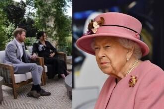 Regina Elisabeta a convocat o reuniune de criză la Buckingham, în urma acuzaţiilor făcute de Harry și Meghan