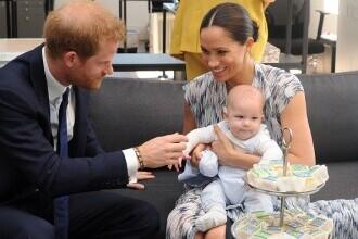 """Motivul pentru care Archie, fiul lui Harry și Meghan, nu a primit titlul de """"prinț"""", la fel ca verii săi"""