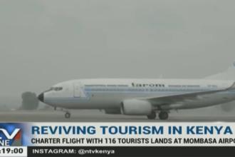 Aterizarea unui avion Tarom în Mombasa a fost subiect de Breaking News în Kenya. Care este motivul