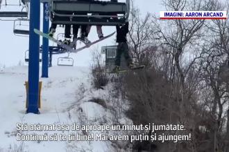 Un copil de 12 ani, rămas atârnat de teleschi, într-o stațiune din Canada