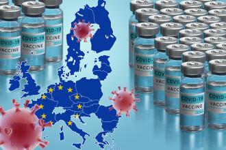 Europa rămâne cu mult în urma SUA, în ceea ce priveşte vaccinarea. 11,7% din populaţia UE este la primă doză de vaccin