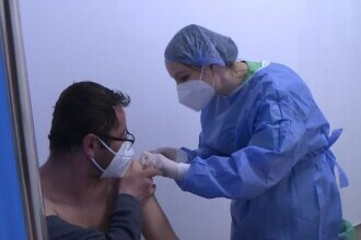 Ce a spus un bucureștean care a făcut aproape 1.000 de km pentru a se vaccina în Botoșani