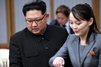 """Sora lui Kim Jong-Un, atac la adresa președintelui sud-coreean. """"Un papagal crescut de America"""""""