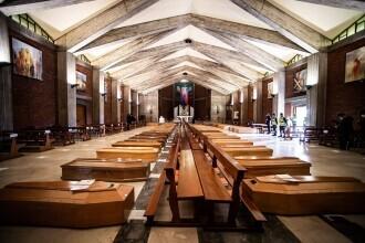 Mărturia unui preot care a avut biserica plină de sicrie din cauza Covid-19: