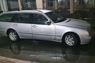 Un bulgar care se întorcea acasă a rămas fără Mercedes în Giurgiu. Cine i l-a luat