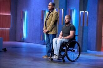 Imperiul Leilor. Un tânăr paralizat a primit o donație de 100.000 de euro pentru a-și împlini visul
