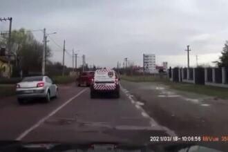 Accident violent între Târgoviște și Sinaia. Trei oameni au ajuns la spital