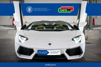 Un Lamborghini Aventador, confiscat de DIICOT de la proxeneți, va fi scos la licitație