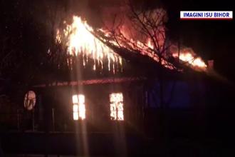 O femeie din judeţul Bihor și-a pierdut viața în urma unui incendiu care i-a mistuit casa