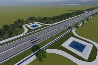 Autostrada Moldovei va avea staţii de încărcare pentru maşini electrice și perdea forestieră