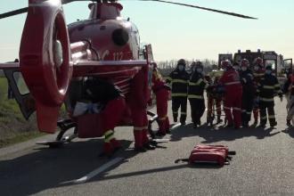 Accident violent în județul Buzău. Trei bărbați și-au pierdut viața
