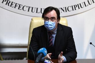 Prefectul Capitalei: Rata de infectare ar putea ajunge la 1,5 în luna mai