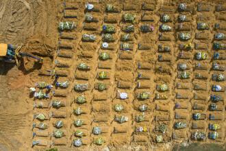Brazilia a depăşit pragul de 500.000 de decese asociate Covid-19