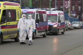 Record de infectări în Polonia: 34.000 de cazuri noi de Covid-19 în 24 de ore