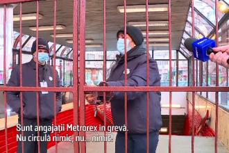 Sindicaliștii au blocat activitatea metroului și au creat haos în Capitală. Sute de mii de bucureșteni au fost afectați