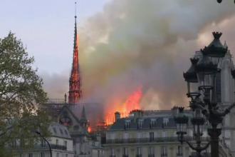 Acoperișul catedralei Notre Dame va fi reconstruit din stejari bătrâni de peste 200 de ani