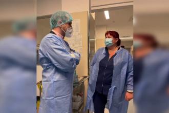 """Vlad Voiculescu, vizită neașteptată la Spitalul din Târgoviște: """"Aș vrea să le mulțumesc. Fac eforturi deosebite"""""""