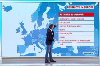 România are printre cele mai puţine restricţii din UE. În Portugalia oamenii nu au voie în spații publice