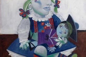 Tabloul care o infatiseaza pe fiica lui Picasso, vedeta unei licitatii
