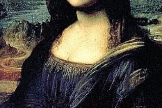 Celebra pictura Mona Lisa, atacata cu o ceasca de ceai