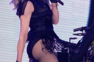 Madonna la Bucuresti: 1.500 de oameni vin sa o ajute la show!
