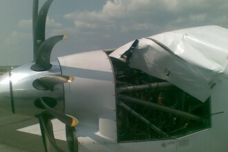 Incident aviatic la Timisoara! O aeronava Carpatair, intoarsa din zbor