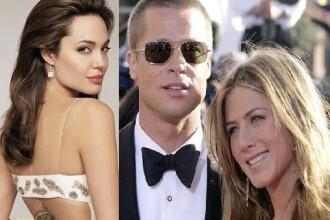 Brad Pitt, consolat de fosta sotie!