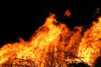 Casa distrusa de foc, chiar inainte de mutarea noilor chiriasi