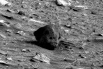 A fost descoperit scheletul unui extraterestru pe Marte?!