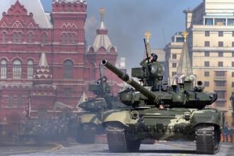 Parada demna de anii de glorie ai Uniunii Sovietice, la Moscova