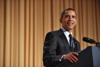 Barack Obama a facut stand-up comedy la dineul corespondentilor!