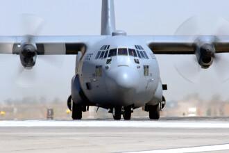 Avion militar american, aterizat de urgenta la Mihail Kogalniceanu!