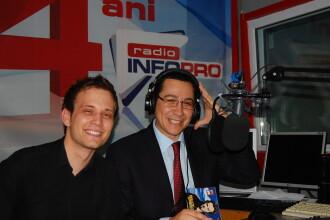 Victor Ponta ia o pauza de la Parlament si vine la Radio InfoPro!