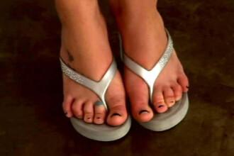 Cele mai urate picioare de celebritati! GALERIE FOTO