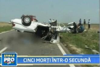 Cinci vieti spulberate intr-o secunda din cauza teribilismului la volan!