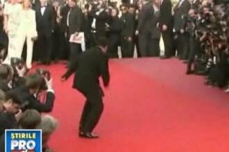 Quentin Tarantino, in pasi de dans la Cannes!