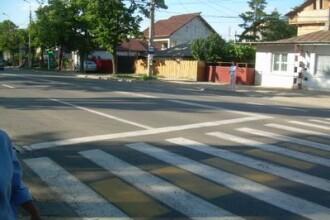 Treci strada pe zebra, dar trebuie sa escaladezi niste dale de beton!