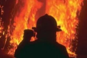 Incendiu pe strada Batistei din Capitala!