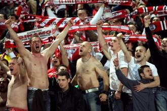 Bataie intre fanii lui Hajduk si cei ai lui Dinamo. 31 au fost retinuti