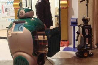 DustBot, robotelul minune care va ajuta sa va debarasati de gunoi