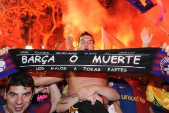 Patru suporteri ai Barcelonei, omorati de un fan Manchester United!