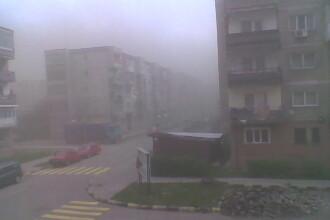 Orasul Rovinari, acoperit cu cenusa la fiecare bataie de vant!