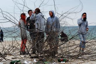 Dezamagire pe litoral: vremea n-a tinut cu turistii