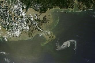 S-a gasit o metoda de se opri poluarea cu petrol din Golful Mexic
