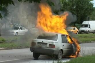 Un incendiu a pus pe jar un cartier din Mizil!Vezi VIDEO si comenteaza