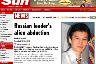 "Politician rus: ""Am fost rapit de extraterestri!"". Afla ce i-au facut!"