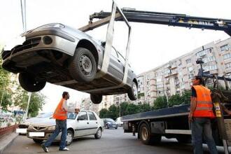 Primaria Timisoara interzice ridicarea masinilor din oras, daca ele nu incurca circulatia.Ce se intampla in parcarile private