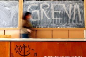 Profesorii, in greva, azi, fata de angajarea raspunderii pe Legea educatiei